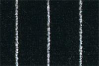 Porsche Stoff Velours Nadelstreifen schwarz / weiss